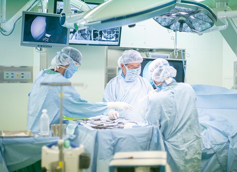 豊富な手術実績